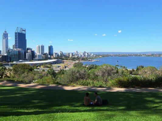 Khung cảnh bình yên của Perth