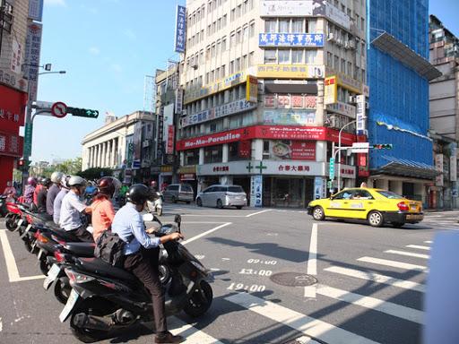 Thi bằng lái xe máy ở Đài Loan