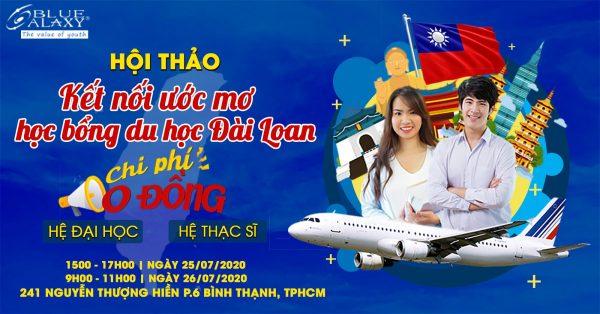 hội thảo kết nối ước mơ du học Đài Loan