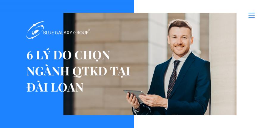6 lý do chọn ngành qtkd tại đài loan