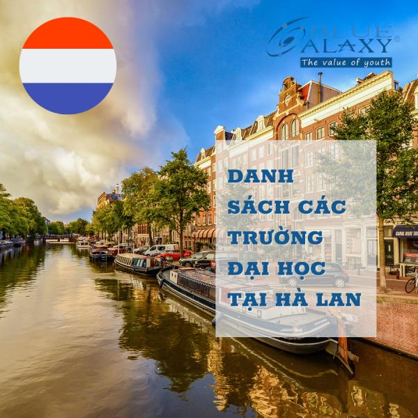Danh sách các trường Đại học tại Hà Lan