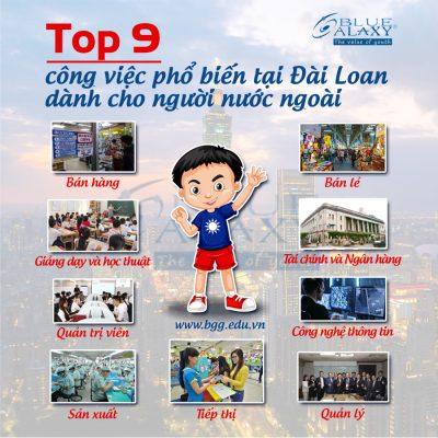 top 9 công việc phổ biến tại đài loan dành cho người nước ngoài