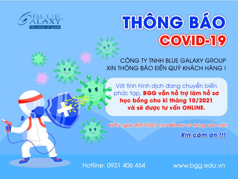 Thông báo nghỉ dịch covid BGG