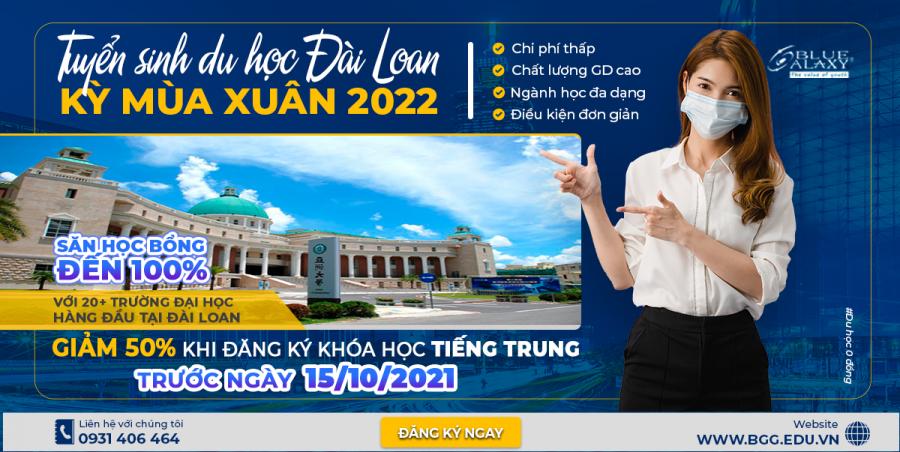 du học đài loan 2022